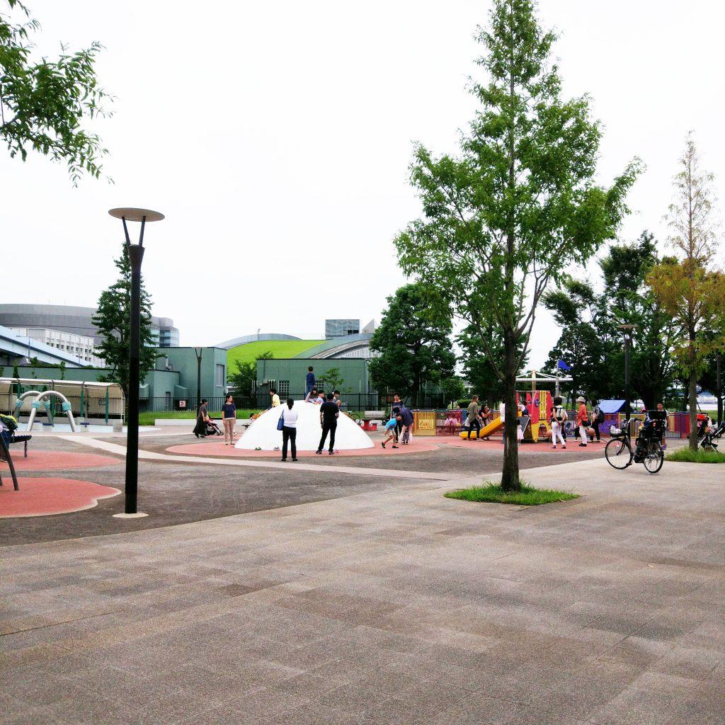 豊洲公園の遊具