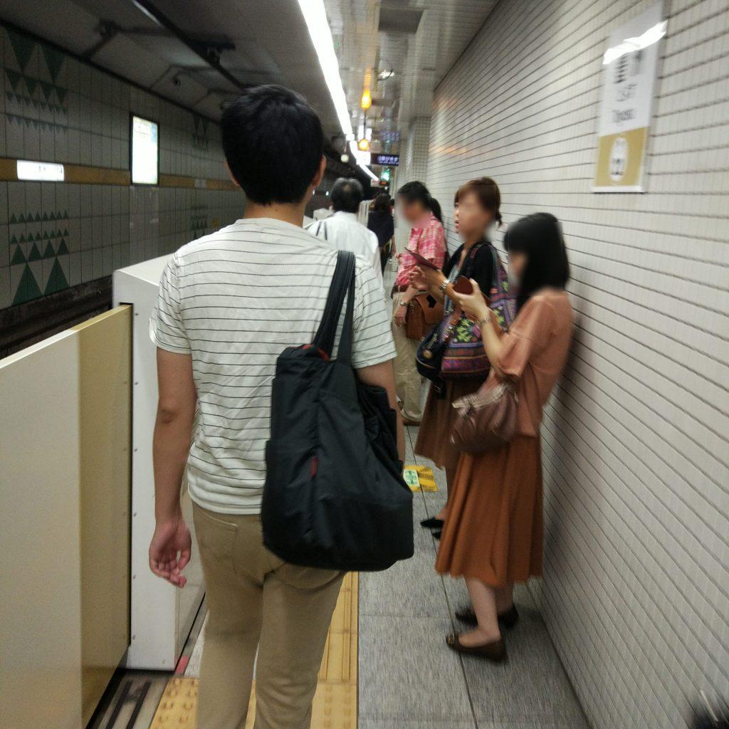 豊洲駅 ホーム