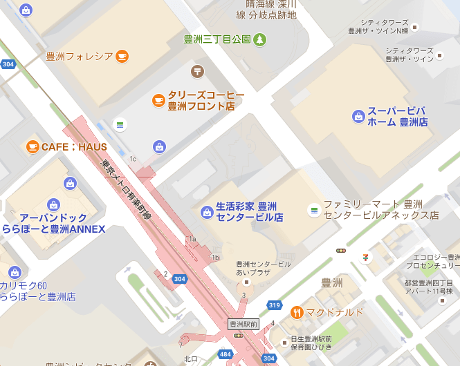 toyosu-starbucks-map